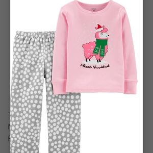 *NEW* CARTER'S GIRLS SIZE 6   2 PC CHRISTMAS…